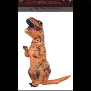 T-Rex Jurassic Park inflatable child costume